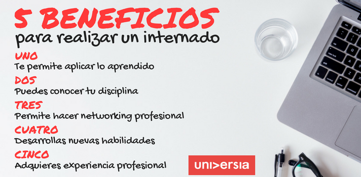 5 beneficios de realizar un internado