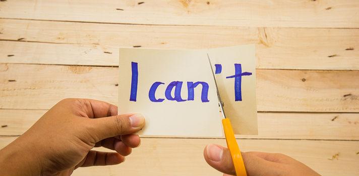 El truco para el positivismo es tomar las cosas negativas y buscarles el sentido, incluso cuando aparentemente no lo tienen