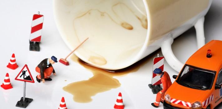 Las bebidas calientes suelen ser fuente de accidentes de este tipo