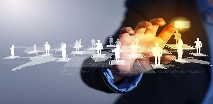 Tu red de contactos puede ayudarte a acercarte a los nethunters y respaldar tu profesionalidad