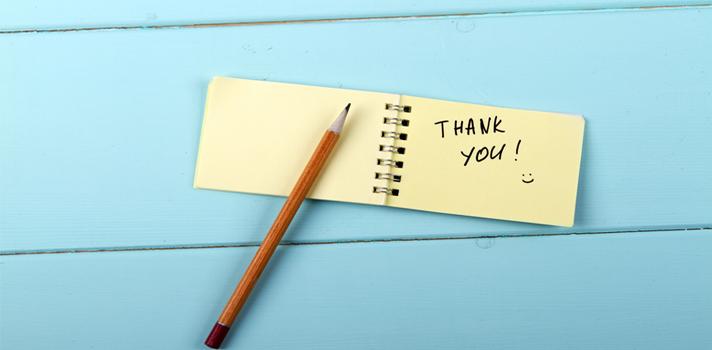 La carta de agradecimiento, esencial en todo proceso de selección