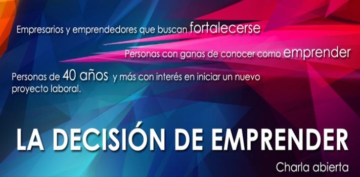 """""""<strong>La decisión de emprender</strong>"""" es el título de la <strong>charla gratuita</strong> que la <a href=https://www.cncs.com.uy target=_blank>Cámara Nacional de Comercio y Servicios (CNCS) del Uruguay</a>brindará a empresarios, emprendedores y personas con interés en iniciar un nuevo negocio. El evento tendrá lugar el próximo <strong>26 de julio</strong>en Montevideo.<br/><br/><br/>Si eres empresario y buscas espacios para fortalecer tu empresa o tienes en mente una idea para emprender, no te pierdas la <strong>charla gratuita """"La decisión de emprender"""" </strong>que tiene como objetivodebatir y generar ideas que construyan una sociedad con nuevas oportunidades para todos.<br/><br/><br/>Las exposiciones estarán a cargo del Profesor de Filosofía, consultor empresarial y miembro de la Comisión de Valores de la Asociación Cristiana de Dirigentes de Empresa (ACDE), <strong>Miguel Patorino</strong>, y del Licenciado en Comunicación Social por la Udelar y Consultor del Sebrae de Brasil, <strong>Gerardo Carvalho Ponte</strong>. <br/><br/><br/>El evento se llevará a cabo el<strong>miércoles 26 de julio de 2017 a las 18:00 h. en las oficinas de la<span>Cámara Nacional de Comercio y Servicios</span></strong>(Rincón 454 esquina Misiones). La actividad es gratuita y las inscripciones deben realizarse a través del teléfono 2916 12 77 int. 147 o por el correo electrónico info@cncs.com.uy. <br/><br/><br/><strong>Esta actividad es organizada por Xeniors junto a la CNCS</strong>, en el marco del Apoyo a Actividades de Fomento de la Cultura Emprendedora de la Red de Apoyo a Futuros Empresarios (RAFE) de la Agencia Nacional de Innovación e Investigación (ANNI) y con apoyo de la Agencia Nacional de Desarrollo (ANDE).<br/><br/><br/><div></div><div class=lead><h3>10 pasos para convertirse en un emprendedor exitoso</h3><img src=https://imagenes.universia.net/gc/net/images/practicas-empleo/e/em/emp/emprendedores-1496650175828.jpg alt=10 pasos para convertirse en un emprendedor exitos"""