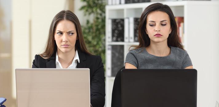 Cómo identificar y evitar a un colega tóxico