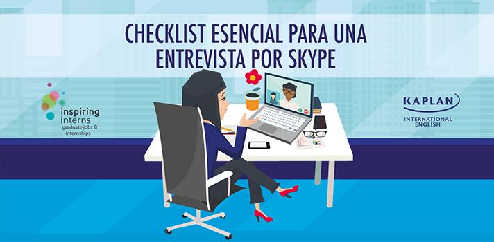 Checklist esencial para una entrevista por Skype