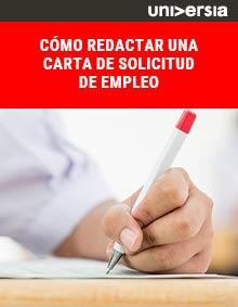 Cómo redactar una carta de solicitud de empleo