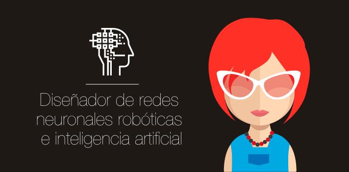 Diseñador de redes neuronales robóticas e inteligencia artificial