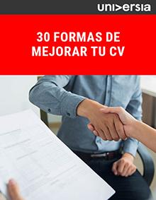 EBook: 30 formas de mejorar tu CV