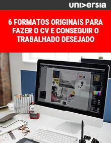 Ebook: 6 formatos originais para fazer o CV