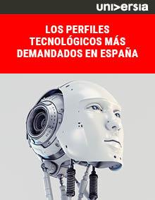 Ebook: Los perfiles tecnológicos más demandados en España