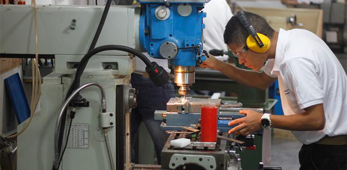 El diseño y el ensamble de las máquinas se realiza en Manizales.
