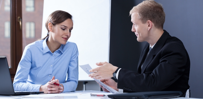 Uma entrevista de trabalho não é uma prova, é uma reunião comercial