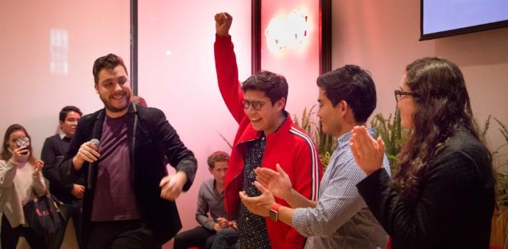 Gerardo Soto Juárez, del Tecnológico de Monterrey, se erigió como vencedor con su proyecto Buddie