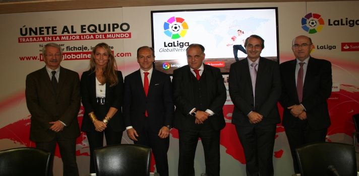 Nace LaLiga Global Network.