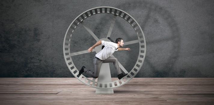 No es necesario que corras todo el día para terminar tareas imposibles