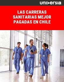 Las carreras sanitarias mejor pagadas en Chile
