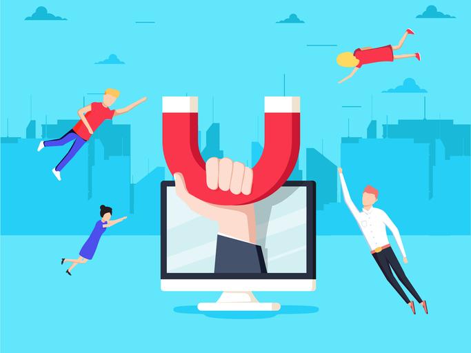O Marketing de Conteúdo é uma forma de atrair clientes de forma orgânica.