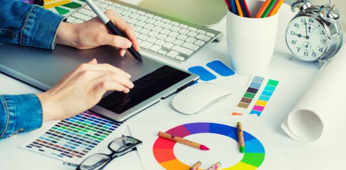 El diseño gráfico es un área que ofrece grandes perspectivas profesionales