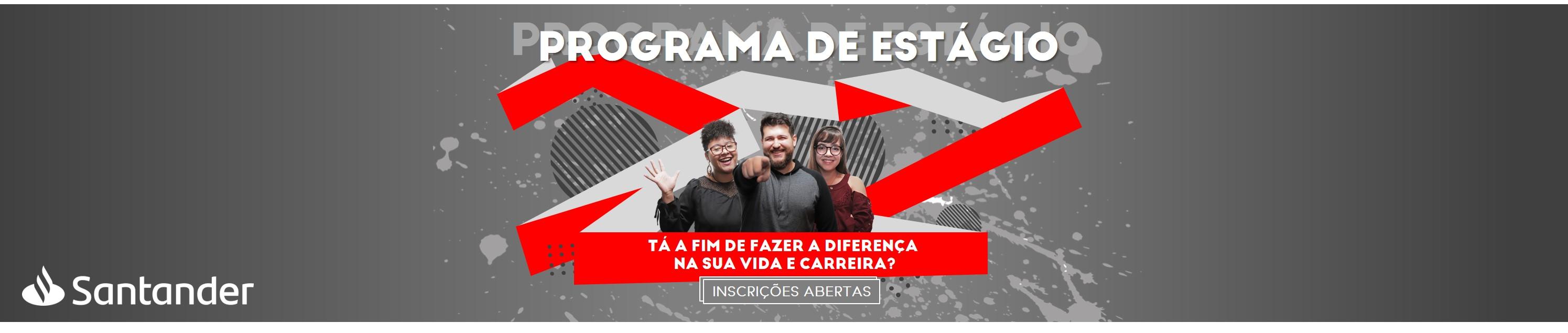 Programa de Estágio Santander 2019