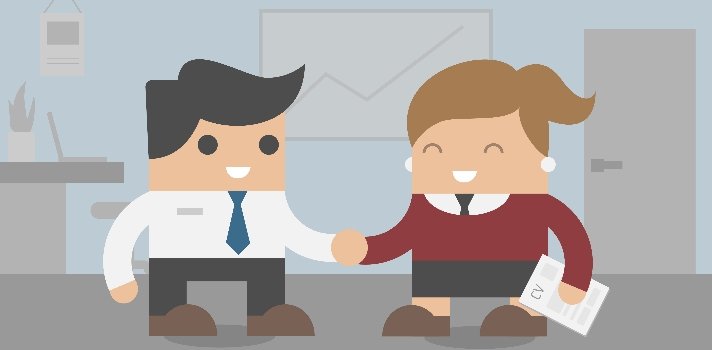 La importancia de saludar correctamente durante la entrevista de trabajo