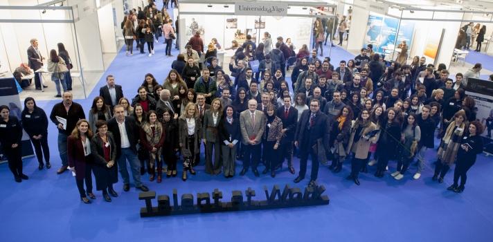 Cerca de 300 participantes en las jornadas Talent at Work celebradas en Galicia.