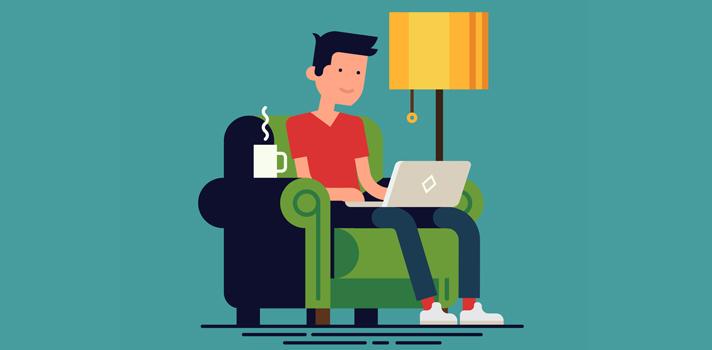 El teletrabajo disminuye considerablemente los niveles de estrés