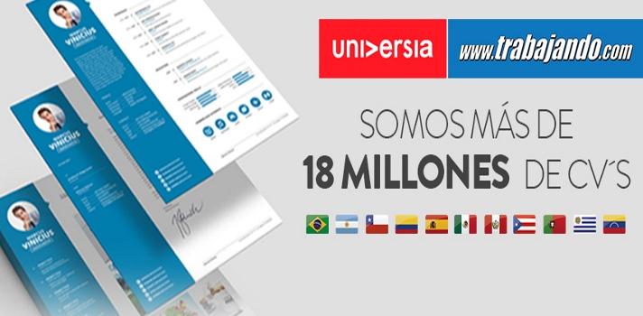 La Comunidad Laboral supera los 18 millones de usuarios.