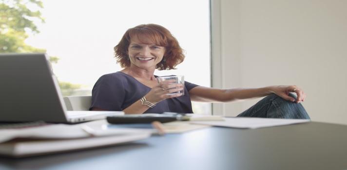 Melhorar a forma como trabalha a partir de casa para se tornar mais produtivo