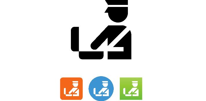 Agente de aduanas inspeccionando maletas