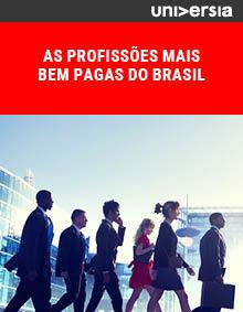 Ebook: As profissões mais bem pagas do Brasil