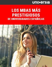 Ebook: Los MBAs más prestigiosos de universidades españolas