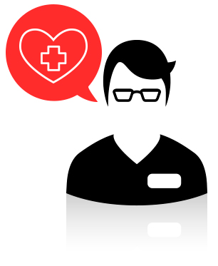 Brindo asistencia a los médicos y atiendo y doy tratamiento a los pacientes.