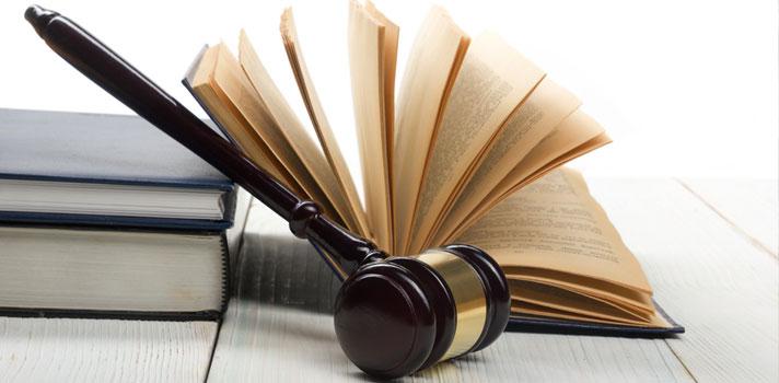Elementos asociados a un proceso judicial donde trabaja un graduado social