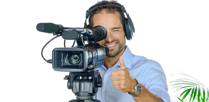 Operador de equipos de grabación de imagen y sonido