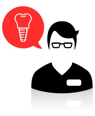 Me encargo de cuidar y sanar la higiene bucodental. Chequeo todas las piezas dentales, además de las encías, para prevenir enfermedades.