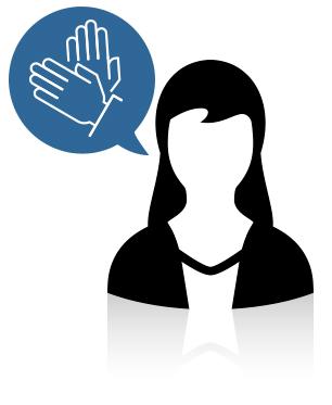 Ayudo, enseño y comunico a las personas sordasmudas a entender los mensajes (ya sean con palabras o con sonidos), a través de gestos.