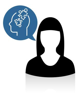 Acompaño y enseño a las personas a través del estudio del comportamiento en el aprendizaje.
