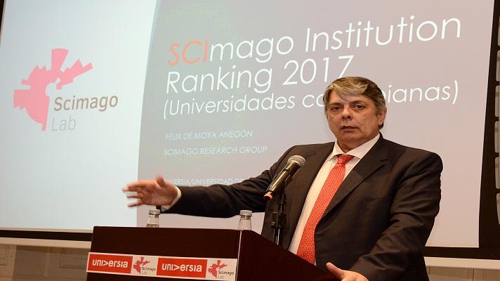 Investigador principal de Scimago Lab, Félix de Moya y Anegón
