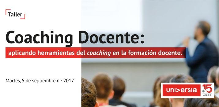 Taller para docentes sobre coaching.