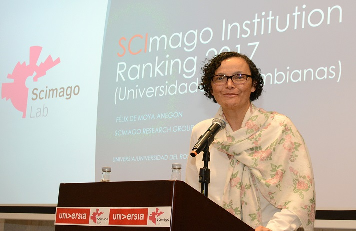 Viceministra de Educación Superior, Natalia Ruíz Rodgers.