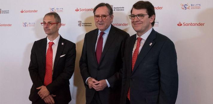 El IV Encuentro Internacional de Rectores Universia se ha presentado hoy en la Universidad de Salamanca