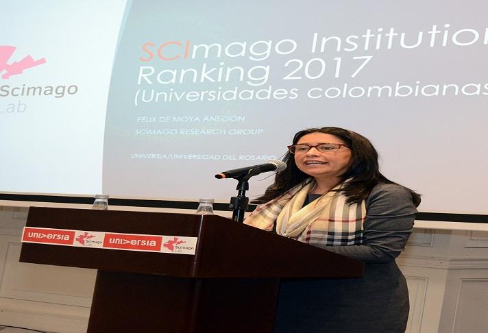 Gerente General Universia Colombia, Ruth Polchlopek.