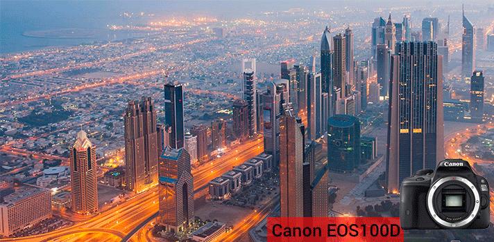 Canon EOS 100D - Cámara réflex digital de 18.0 Mp