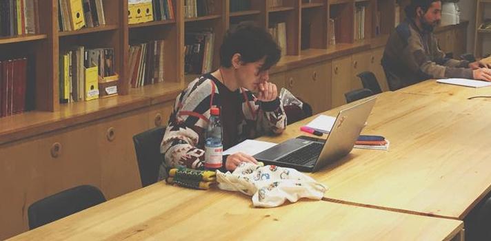 Aprovecha el ambiente silencioso de las salas de estudio