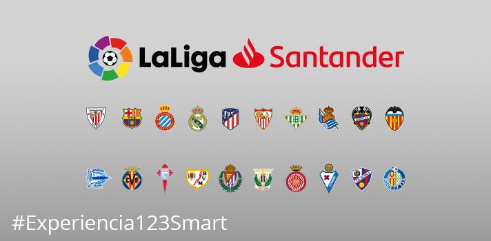 El premio incluye 2 entradas para uno de los partidos de la primera jornada de LaLiga Santander prevista para el fin de semana del 18 al 19 de agosto 2018