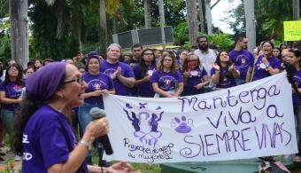 Marcha por la paz y la equidad de las mujeres en RUM