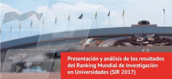 21 universidades colombianas en el Ranking Mundial de Investigación 2017