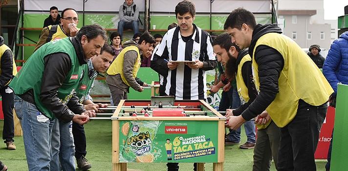 La UCSC albergará jornada del VI Campeonato Nacional de Taca Taca Limón Soda Universia 2017