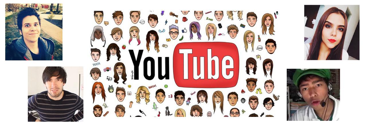 ¿Con qué recursos trabajan los youtuber?