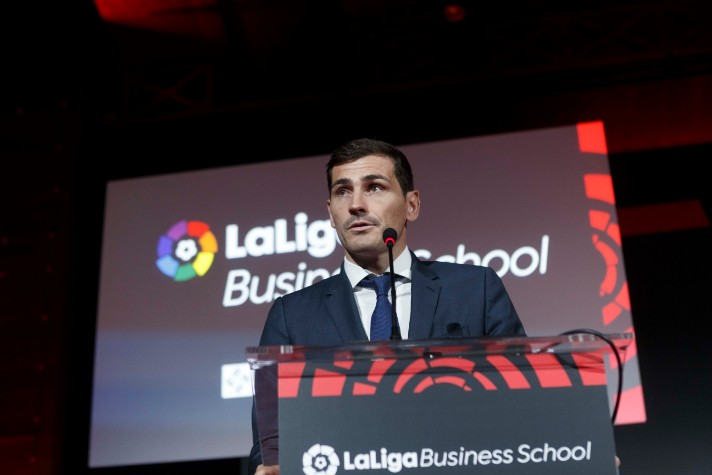 Iker Casillas, acto de graduación de LaLiga Business School