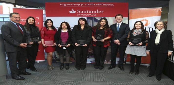 Santander Universidades entrega Becas Iberoamérica a estudiantes y docente de la U. de las Américas